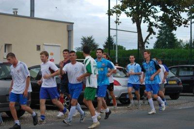 Reprise de l'entrainement séniors 2010/2011